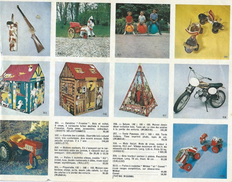 Catalogue Noël 1971 des Galleries de Juvisy Galeri55
