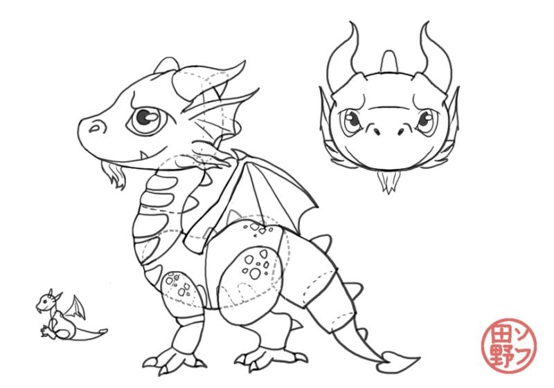 Mes bestioles BJD Dragon10
