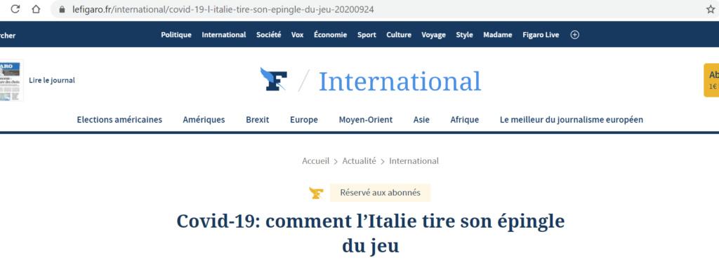 C'est facile à comprendre Italie10