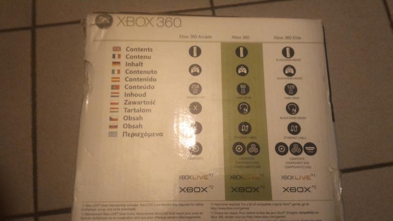 PS2 Fat pucée + Xbox 360 Fat P_201628