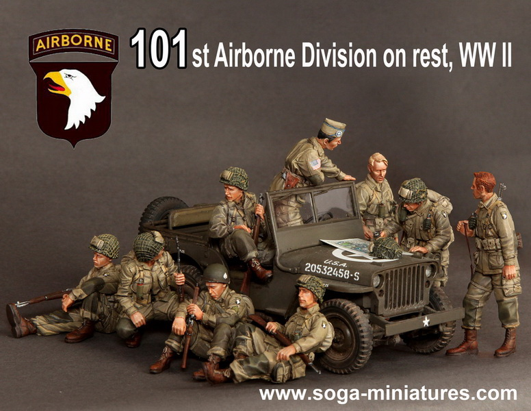 101 St Airborne Division on rest, WWII 293_aa10