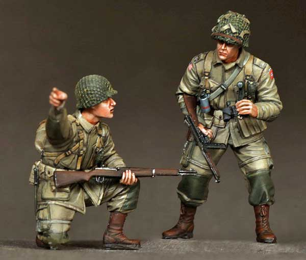 101 St Airborne Division on rest, WWII Sog36310
