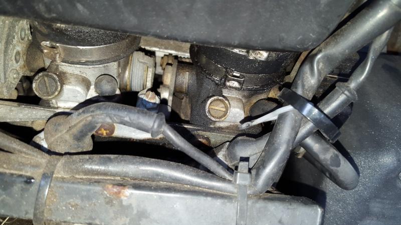 gas leak around throttle body 20160411