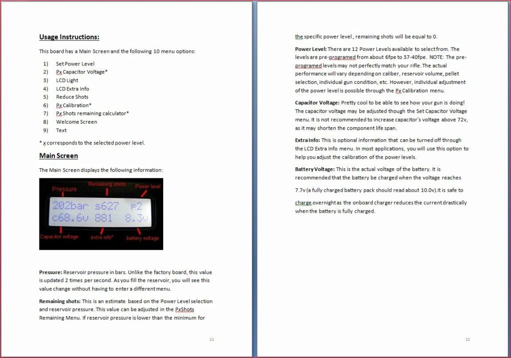 Heliboard pour Daystate Airwolf: une carte de puissance programmable 11-1210