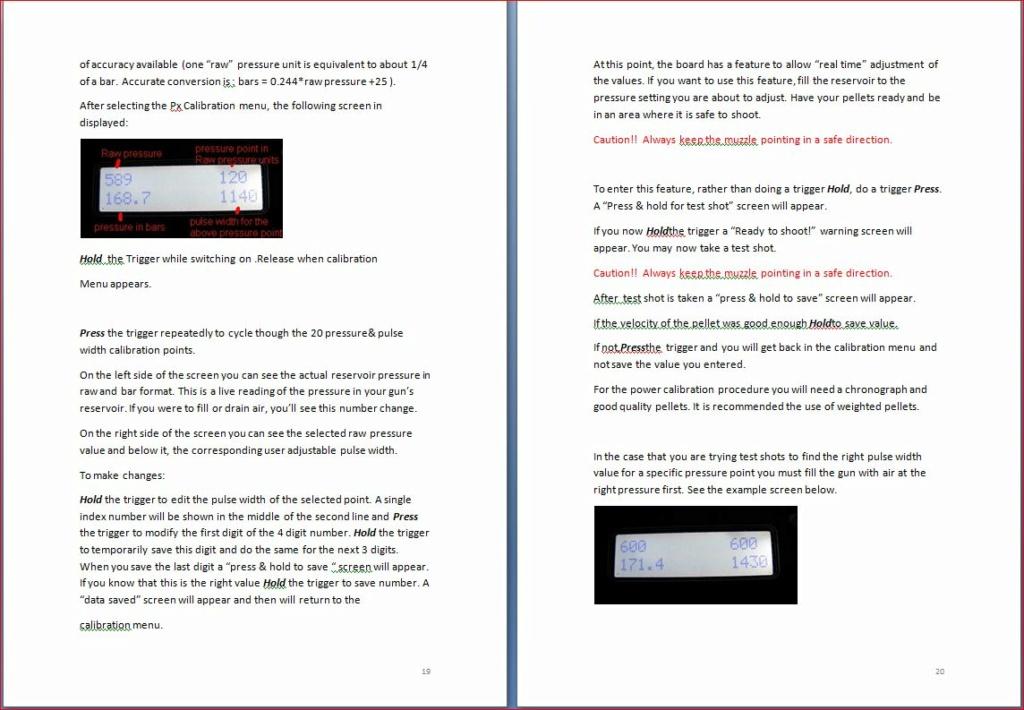 Heliboard pour Daystate Airwolf: une carte de puissance programmable 19-2010