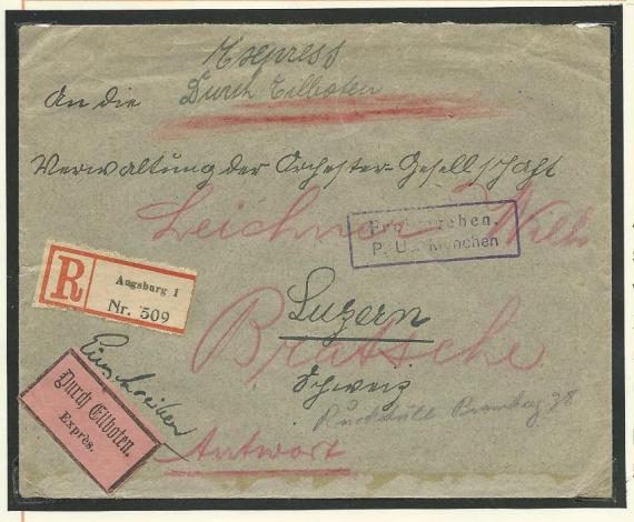 Devisenkontrolle im Deutschen Reich nach Ende des 1. Weltkrieges Devise13