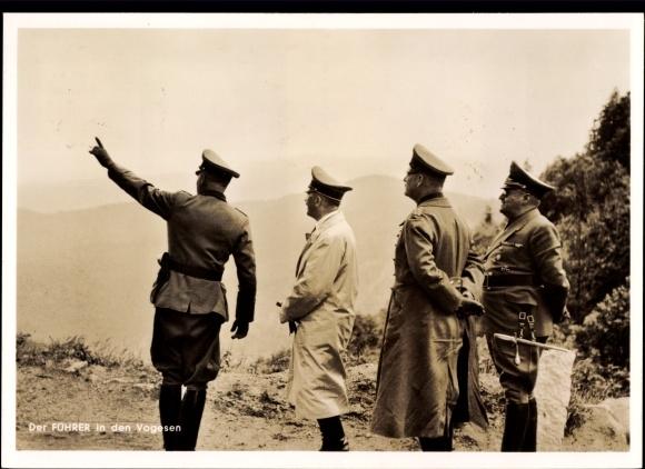 Les déplacements d'Hitler - Page 2 Hitler10