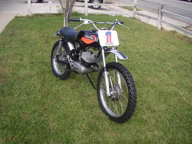 Classic MX Bike Photos - Page 2 Harley10