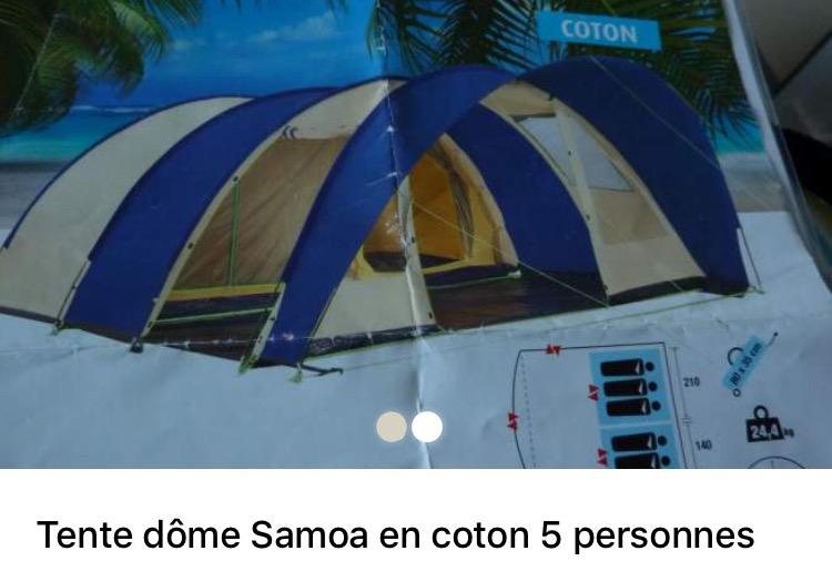 Tente dome samoa Image10