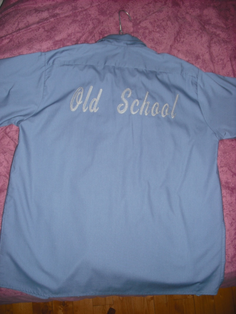vends chemise old school et biker  00211