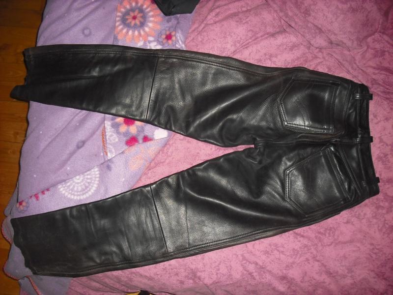 pantalon cuir moto ( daytona ) P_00610