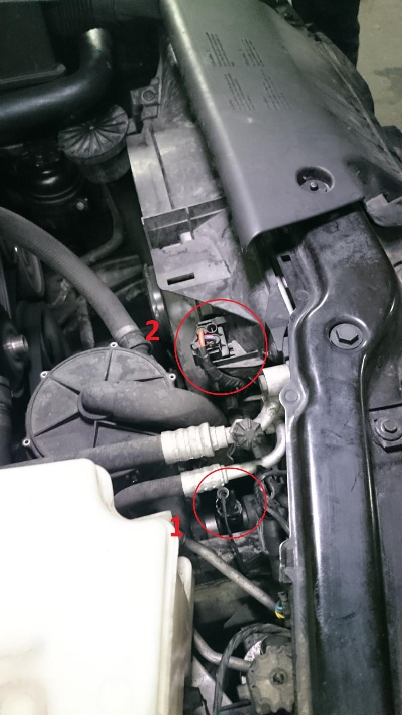 [ BMW e46 316i an 2000 ] Chauffe moteur et arrêt du ventilateur radiateur( Abandonné ) Photo11