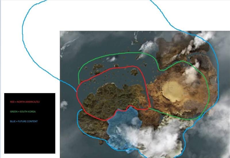 petit aperçu du futur de la map de BDO 12973110