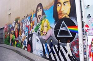 Graffiti chanteurs ( euses) 80,90 Street11