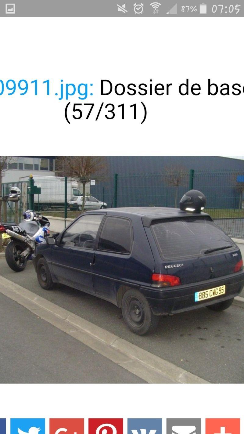 Peugeot 106 1.4 L (1992-1993) Screen10