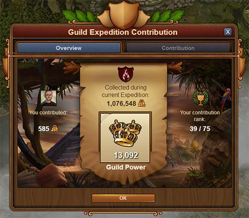 11 Мая - начало Экспедиций Гильдии 02-0310