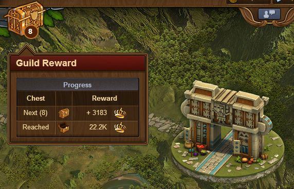 Новый функционал в игре — экспедиция гильдии.  2-510