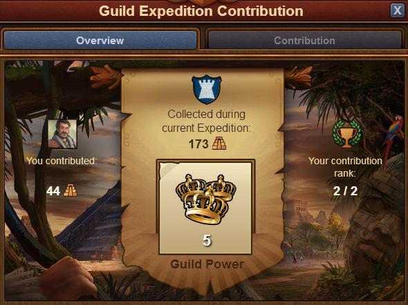 Новый функционал в игре — экспедиция гильдии.  2-6a10