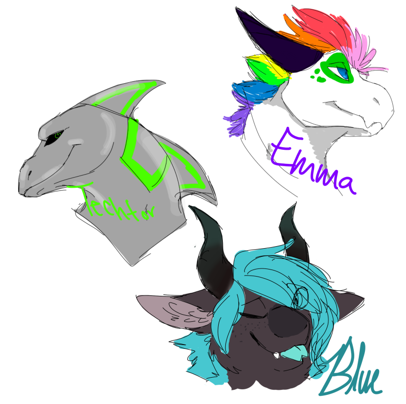 recent Laru arts (finished and not some trigger warnings may be applied) Drew_s10