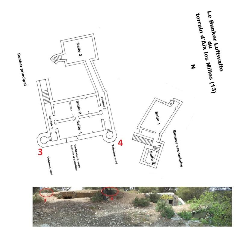 Bunker commandement d'aérodrome : Aix - Les Milles (13) - Page 3 Eee12