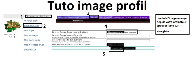 Tuto pour mètre une image sur sont profile  Tuto_i10