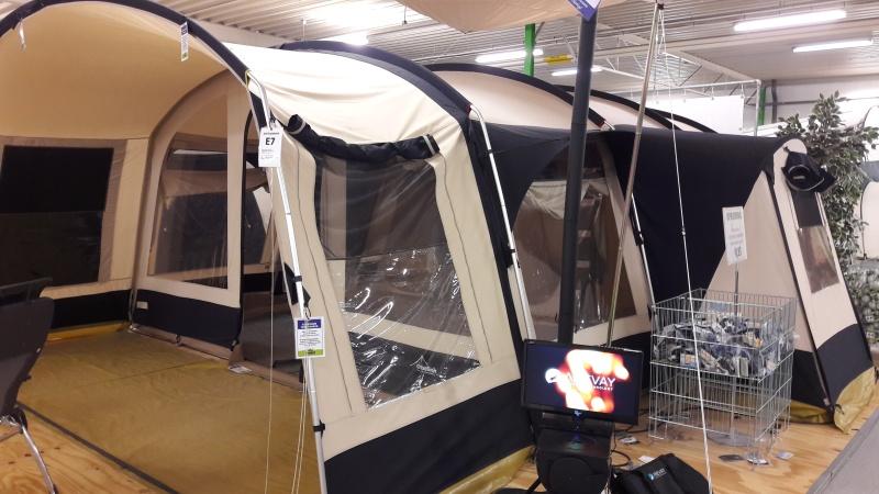 Mon 1er achat de  tente : Obelink Amazonas 600 20160513