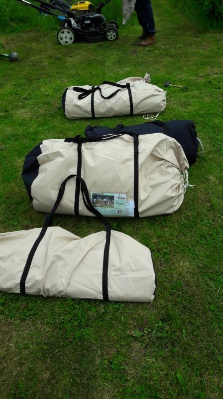 Mon 1er achat de  tente : Obelink Amazonas 600 20160515