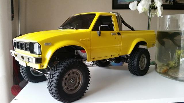 Mon Toyota Hilux Jaune 20160414