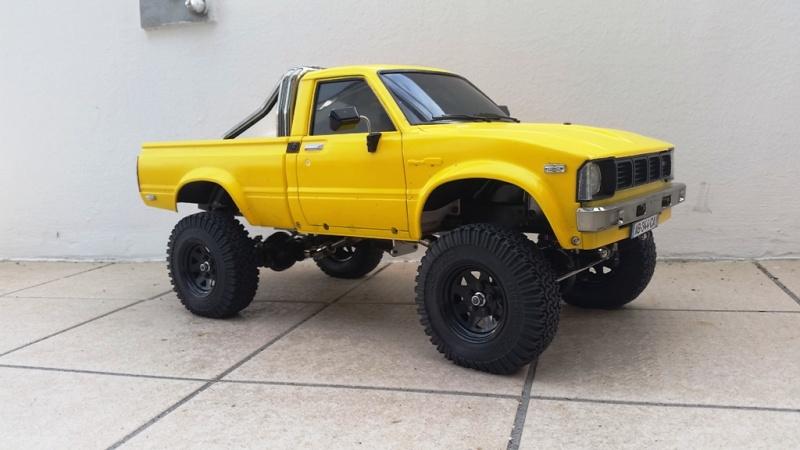 Mon Toyota Hilux Jaune 20160428