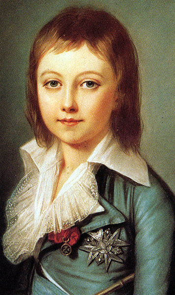 Louis XVII dit l'enfant du Temple.