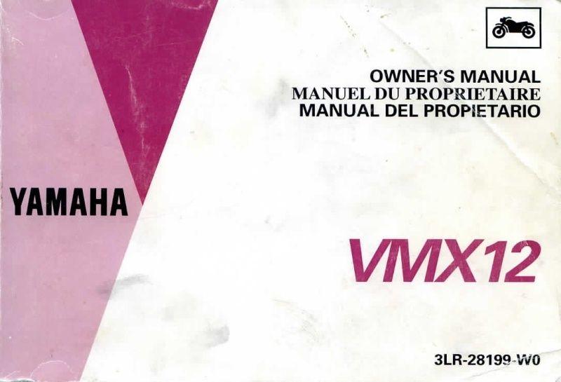 Manuel du propriétaire Vmx1210