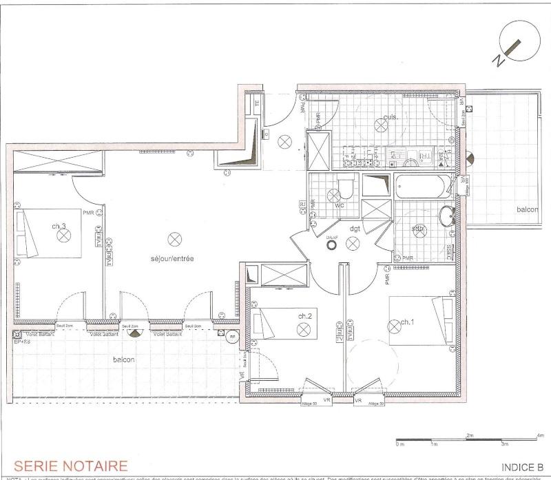 Aménager un salon avec une partie salle à manger dans espace avec renfoncement prises et radiateurs Plan_d12