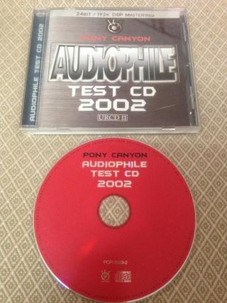 Pony Canyon Audiophile Test Cd 2002 (used)