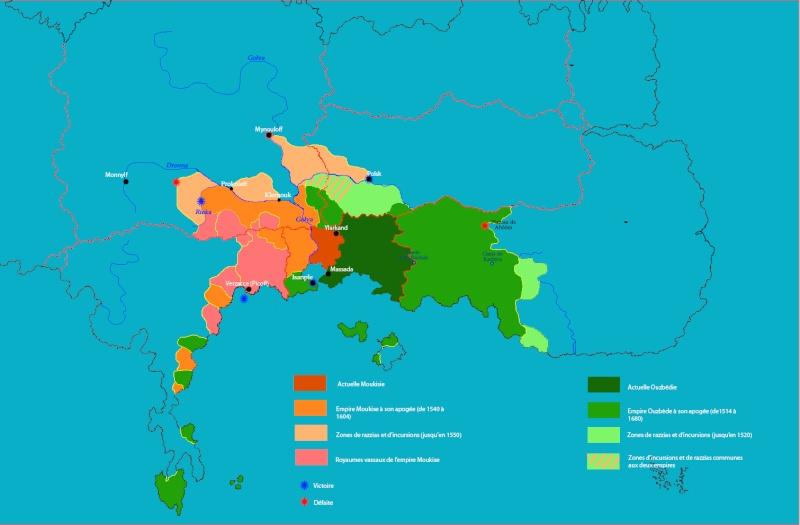 Ouzbédie, Roslavie, Moukisie Les provinces occidentales de paulmatie et la poudrière qu'elles représente Apogye15