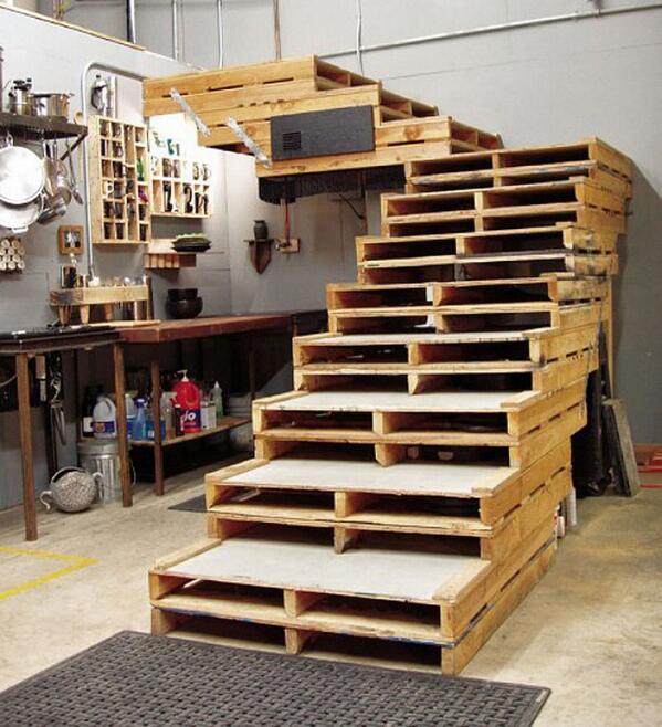 Escalier palette Escali10