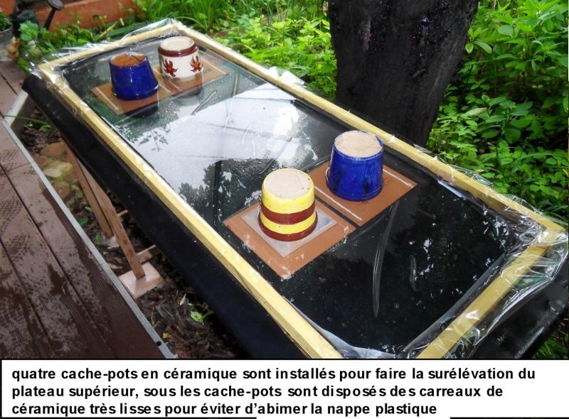Piscine anti-escargots pour culture dans un jardin 316