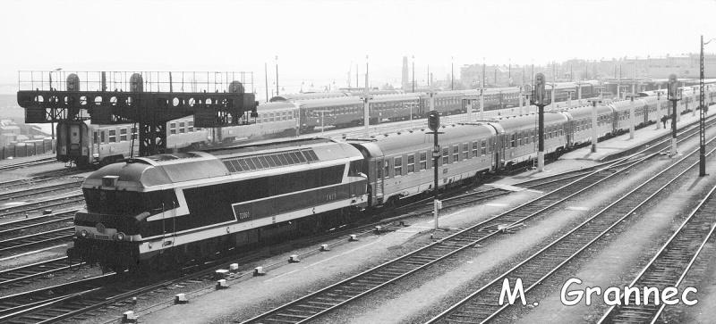 Gare de Brest avant électrification 70athm10