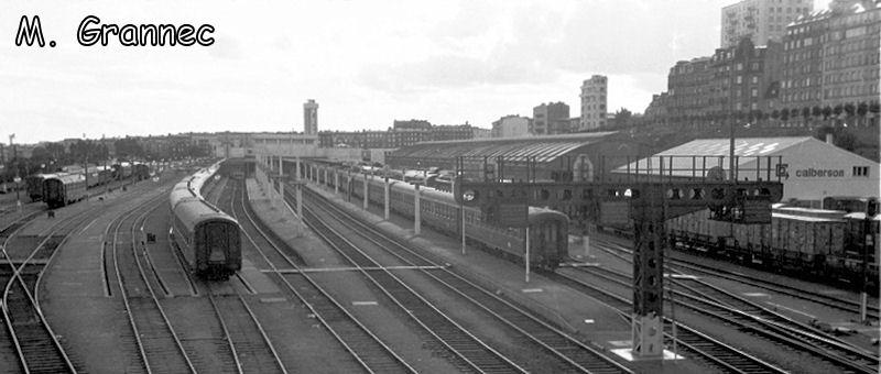 Gare de Brest avant électrification 8chgmw10