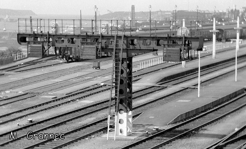 Gare de Brest avant électrification B-10z910
