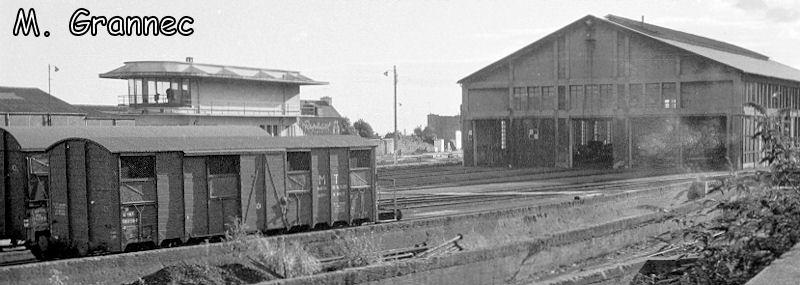Gare de Brest avant électrification Iwpnis10