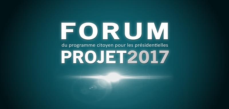 FORUM PROJET2017