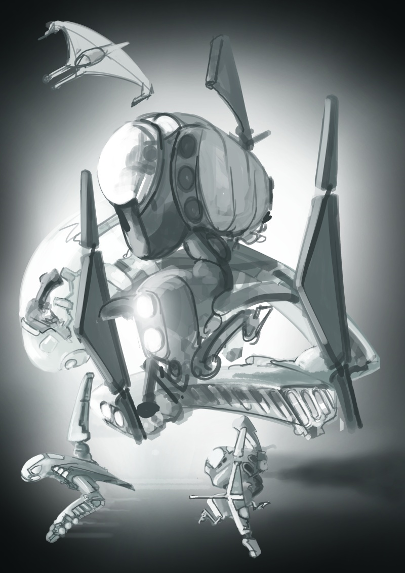 (wwardwarf) mes recherches croquis délire... Sketch14