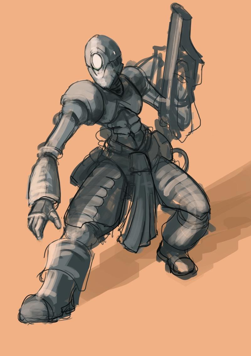 (wwardwarf) mes recherches croquis délire... Sketch15