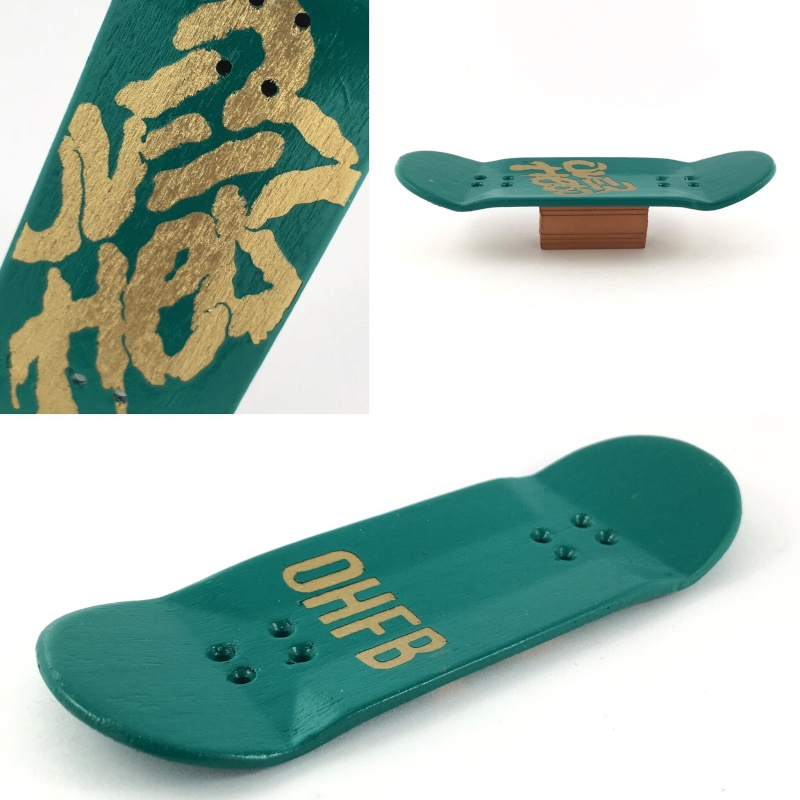 OVER HEAD Fingerboards, Spanish Company. 2016-012