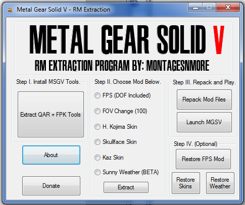 Metal Gear Solid V - RM-Extraction 7-2-1410