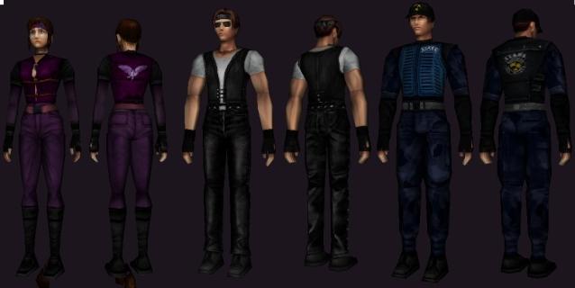Alternate costumes N64 K3rbd510