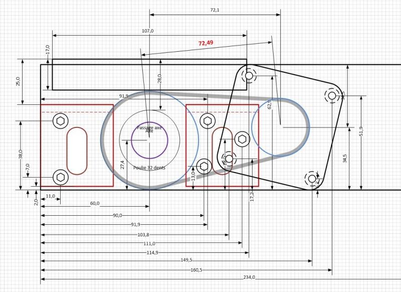 Motorisation de la table d'une R/B Hammer A3 31 Platin11