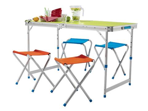 Table Pliable Avec 4 Tabourets Chez Lidl Jeudi 2804