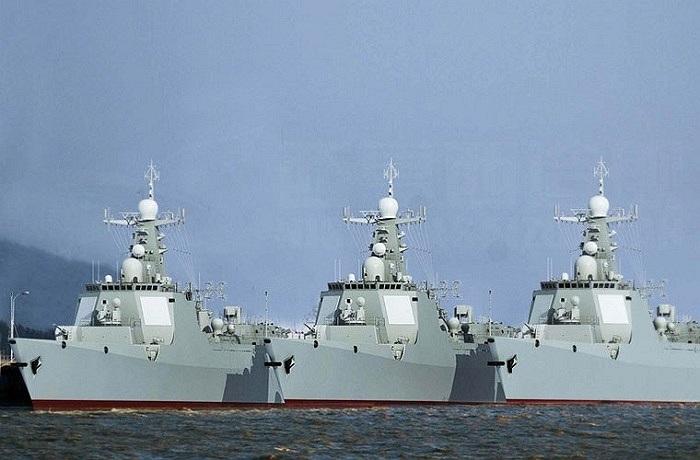 Type 052D - Destroyer - Page 13 Tau_kh10