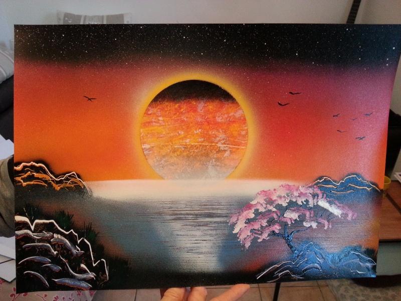 mes 1er tableaux après 1 mois 20160411